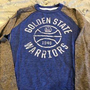 Adidas NBA L/S vintage boys tee NEW without tags